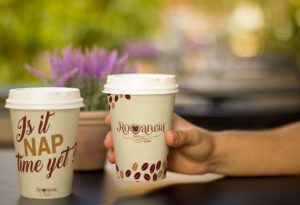 Holding a Coffee Cup Mockup - Coffee