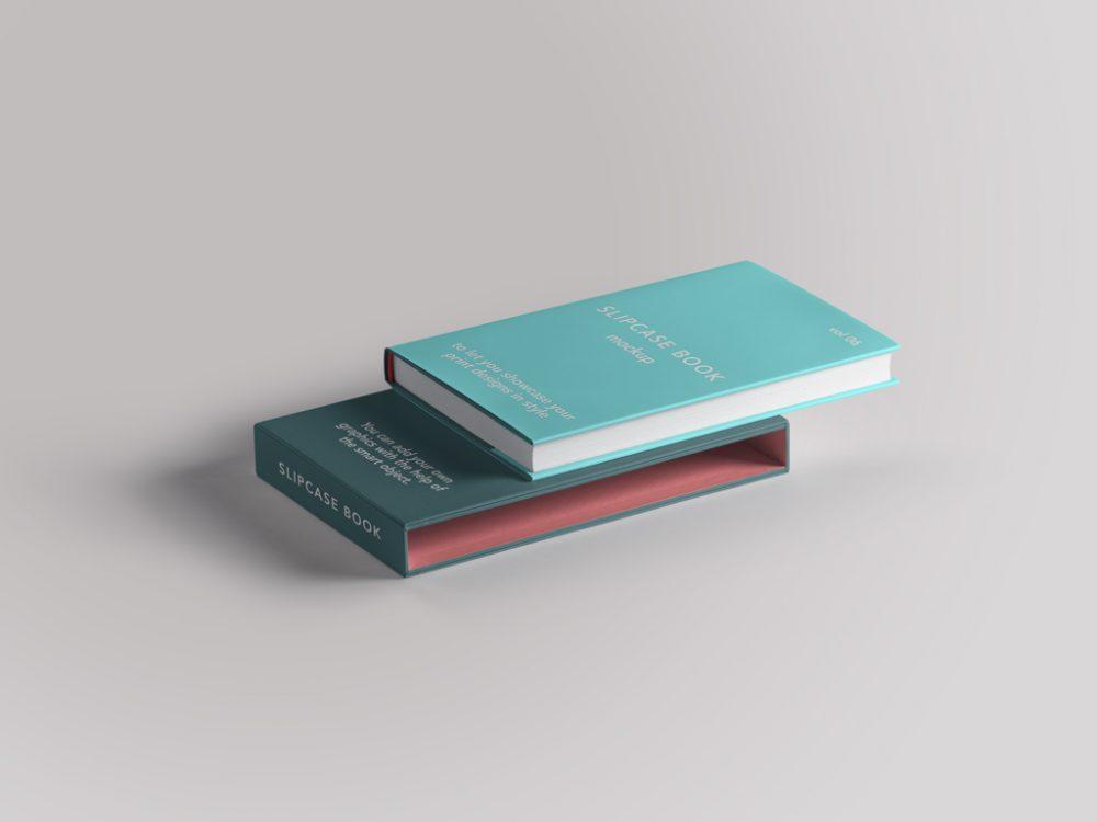 Slipcase Book Mockup - Slipcase