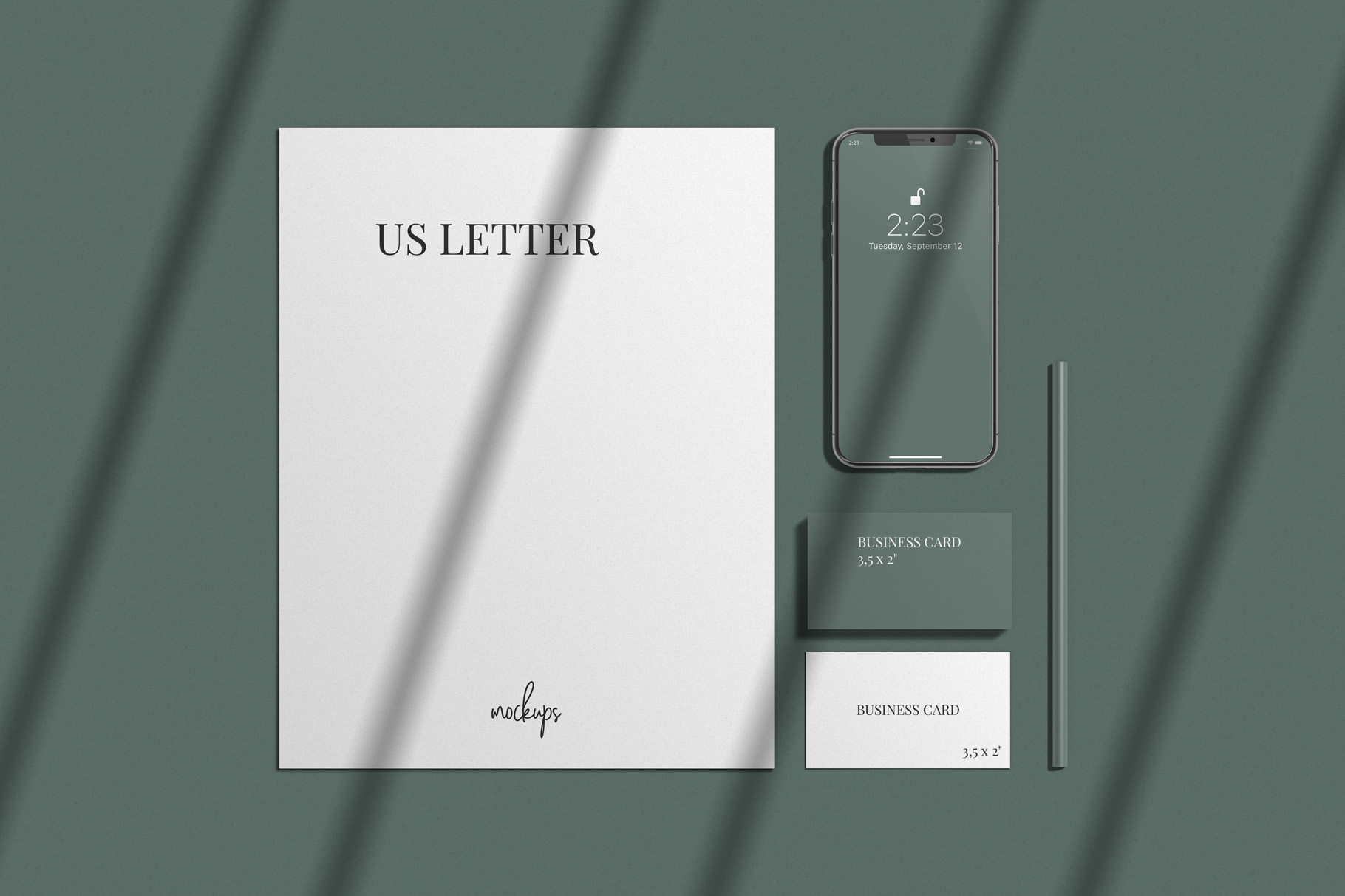 Free-Stationary-Scene-With-iPhone-Mockup-PSD