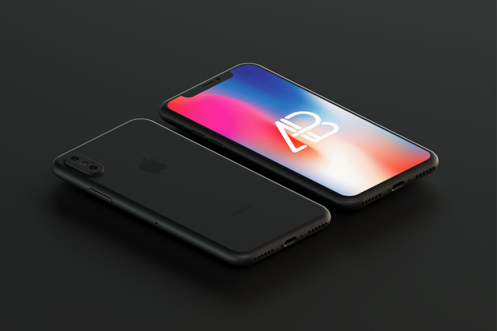 free-black-iphone-x-mockup