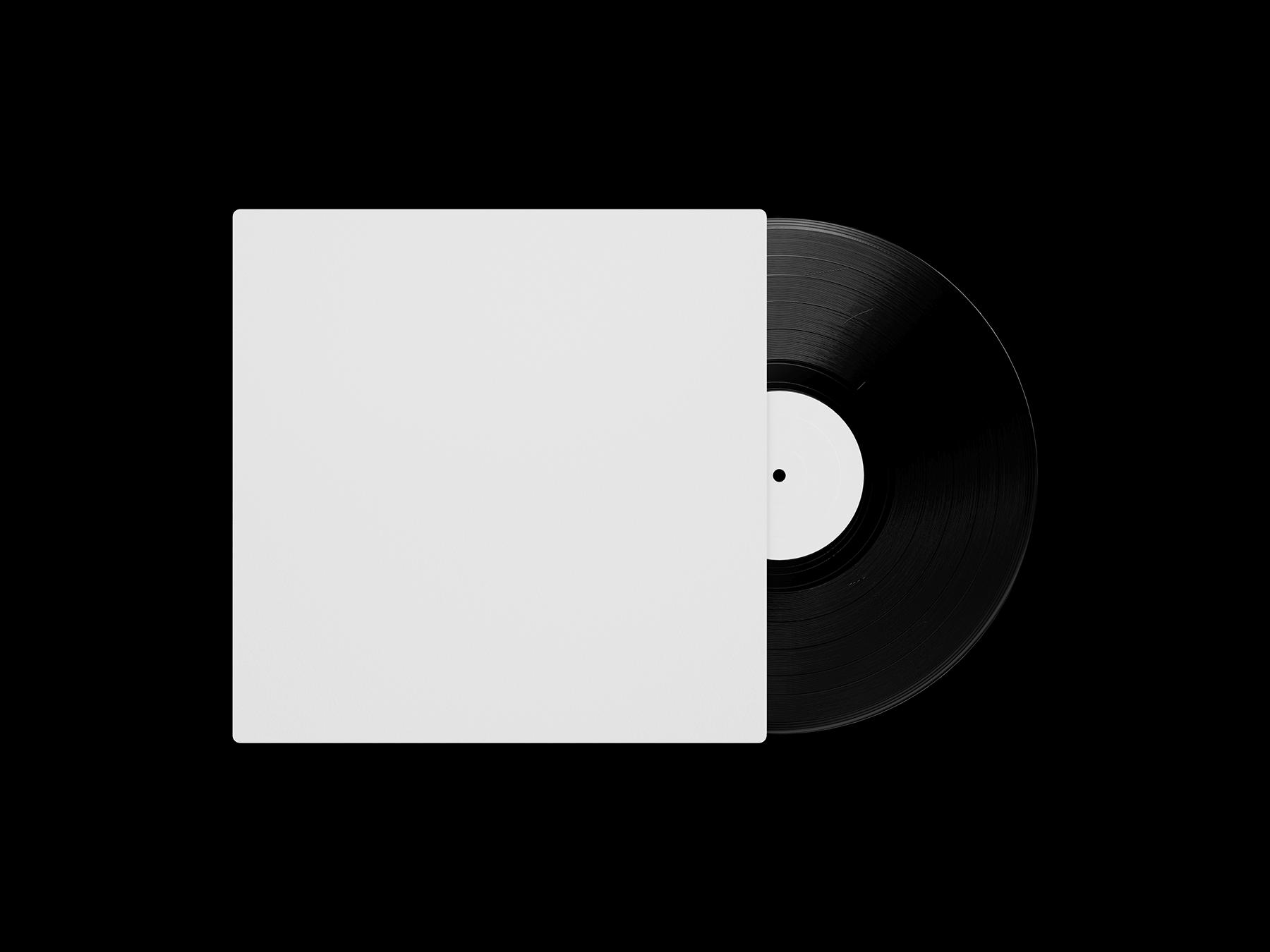 Free Vinyl Record Mockup Set 2