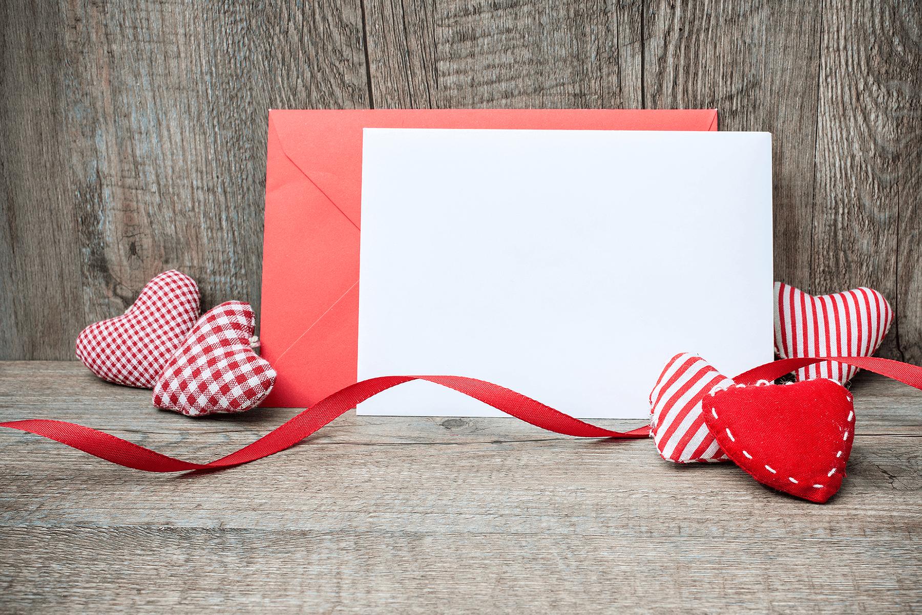 Free Valentine's Day Card Mockup 2