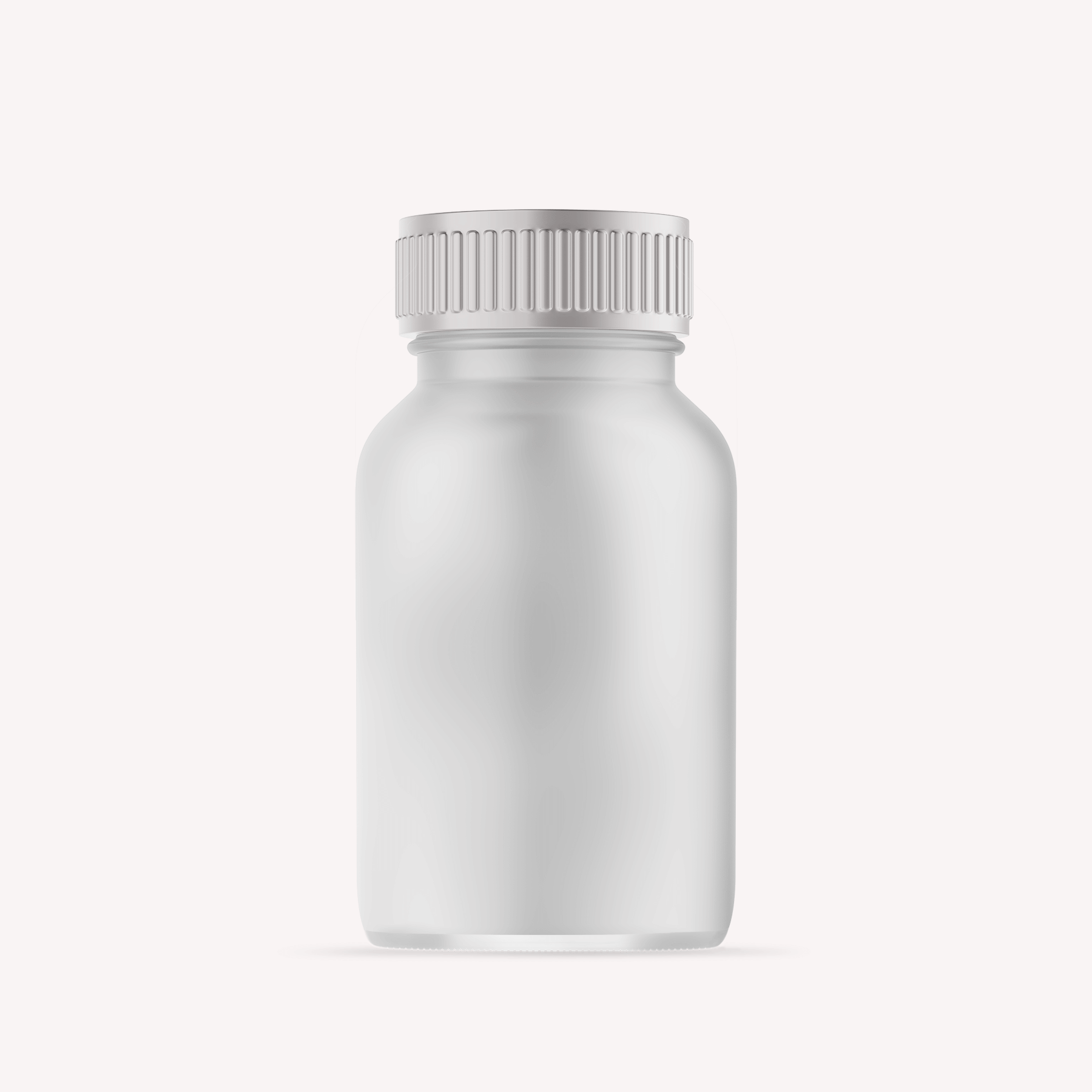 Free Plastic Pills Bottle Mockup