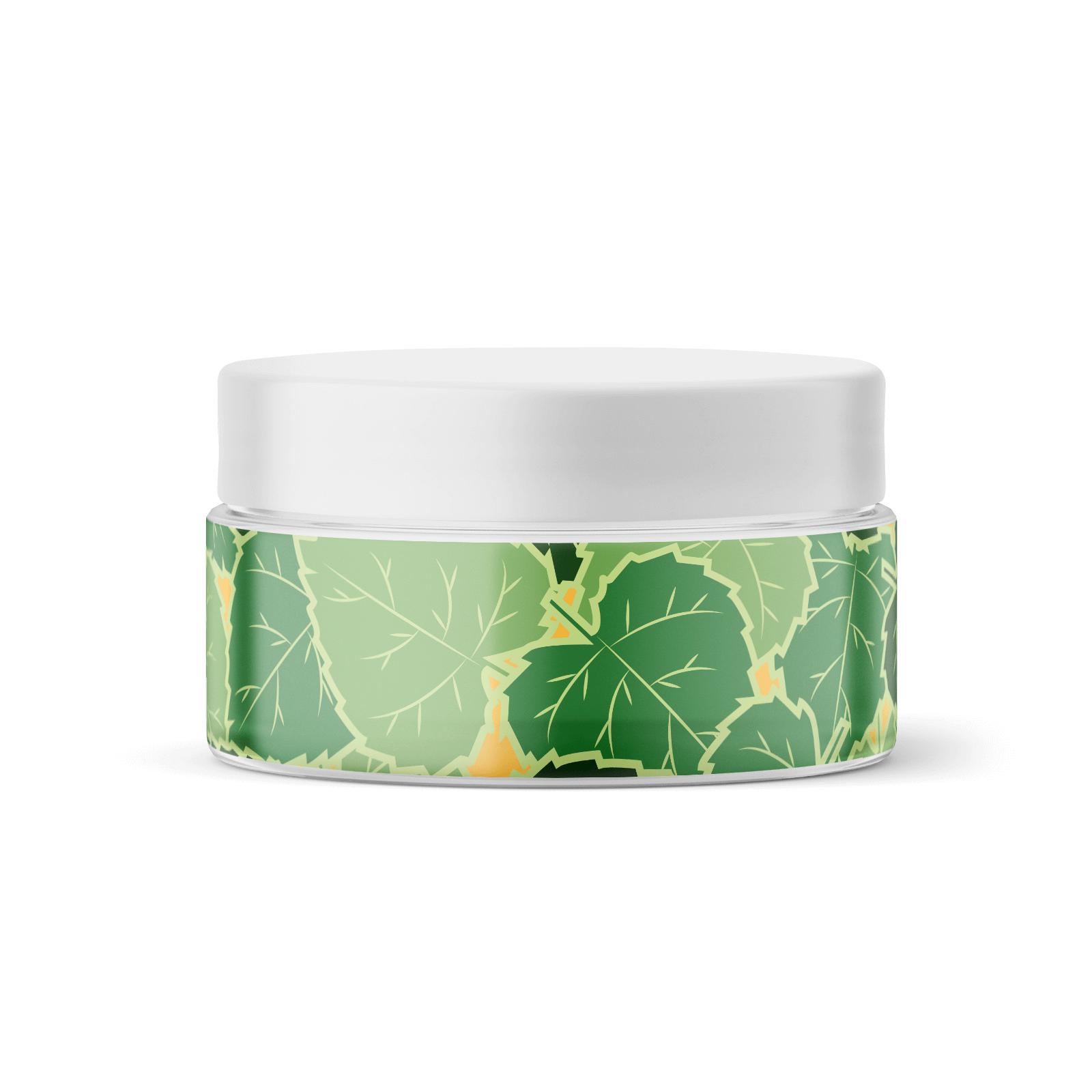 Free Comestic Jar with Lid Mockup