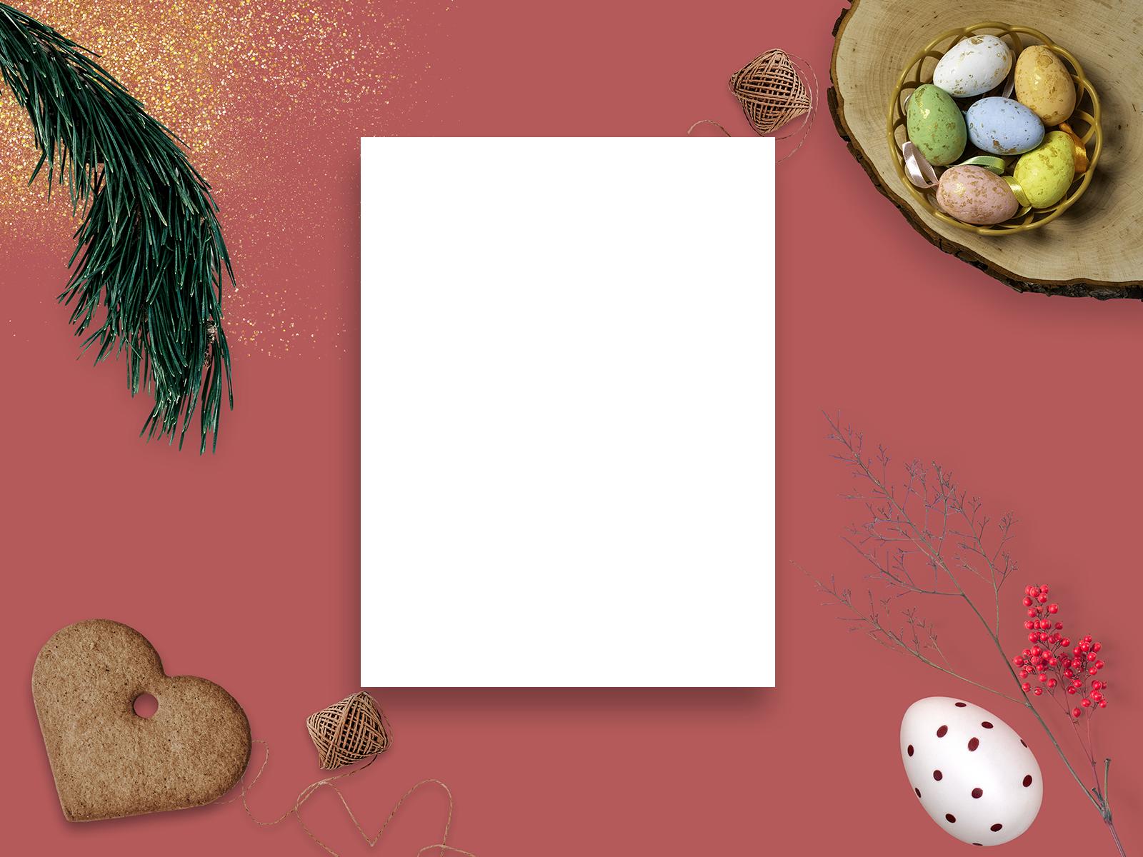 Free Easter Cards Mockup 2