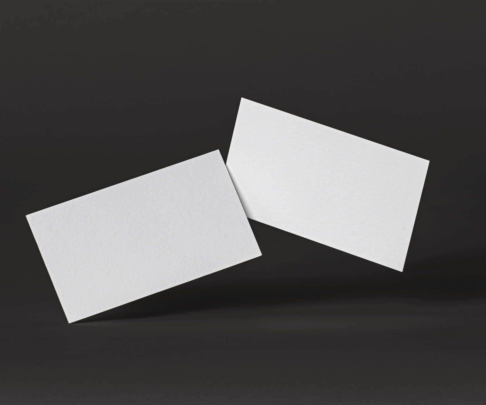 Free Elegant Business Cards Mockup 2