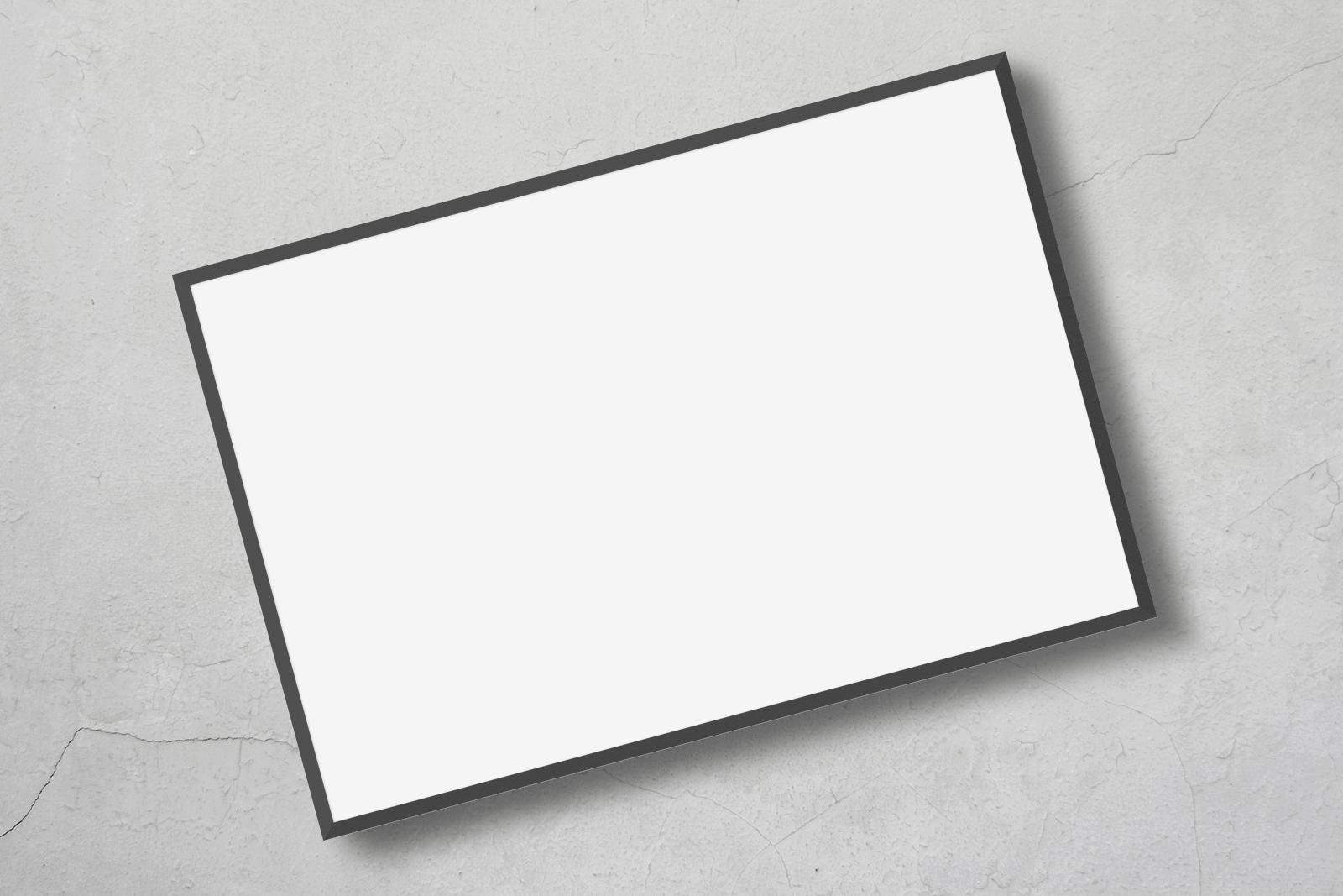 Free Thin Photo Frame Mockup 2