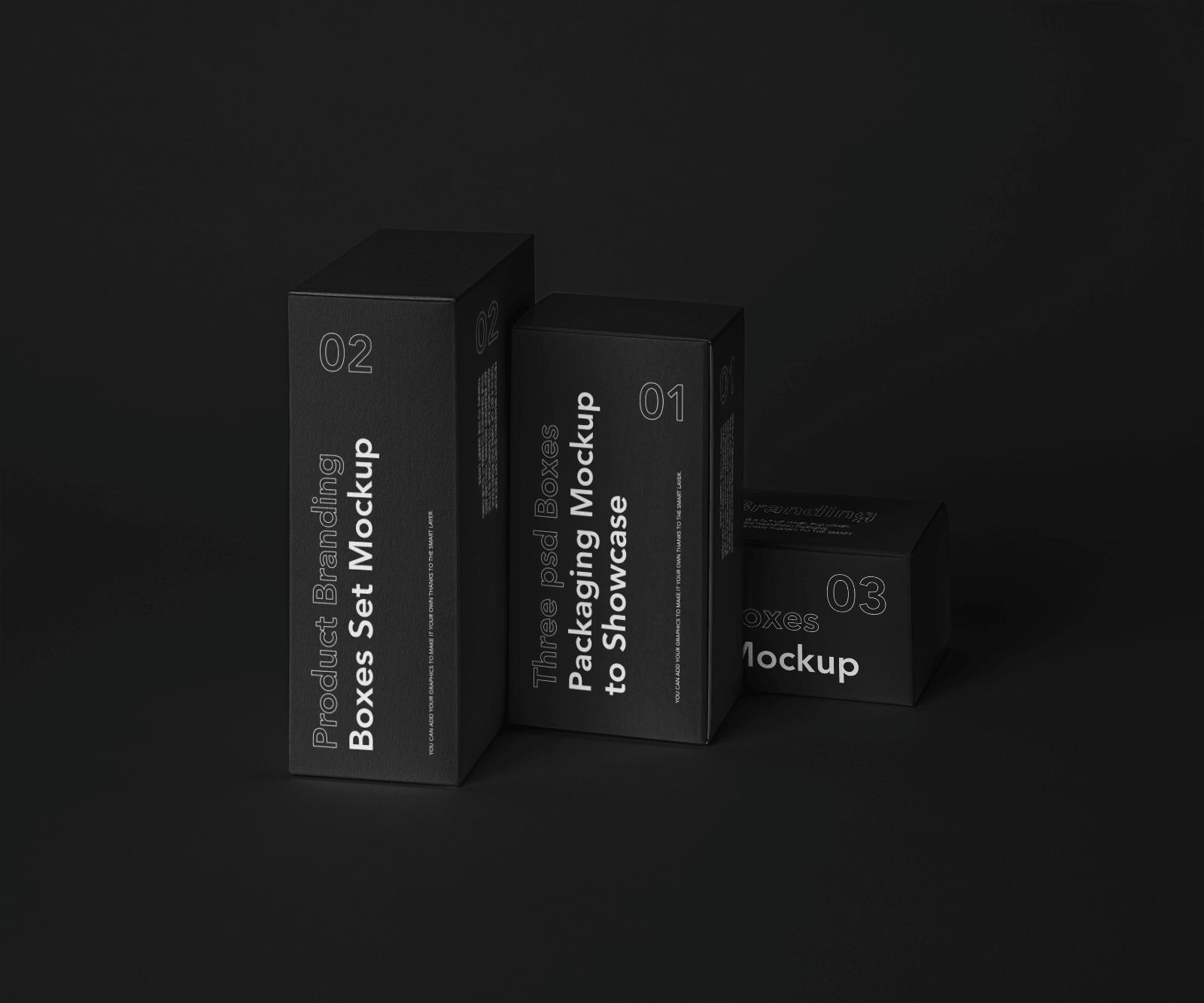 Free Box Branding Mockup