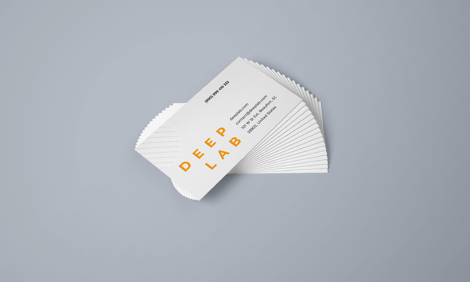Free Business Cards Branding Mockup Set