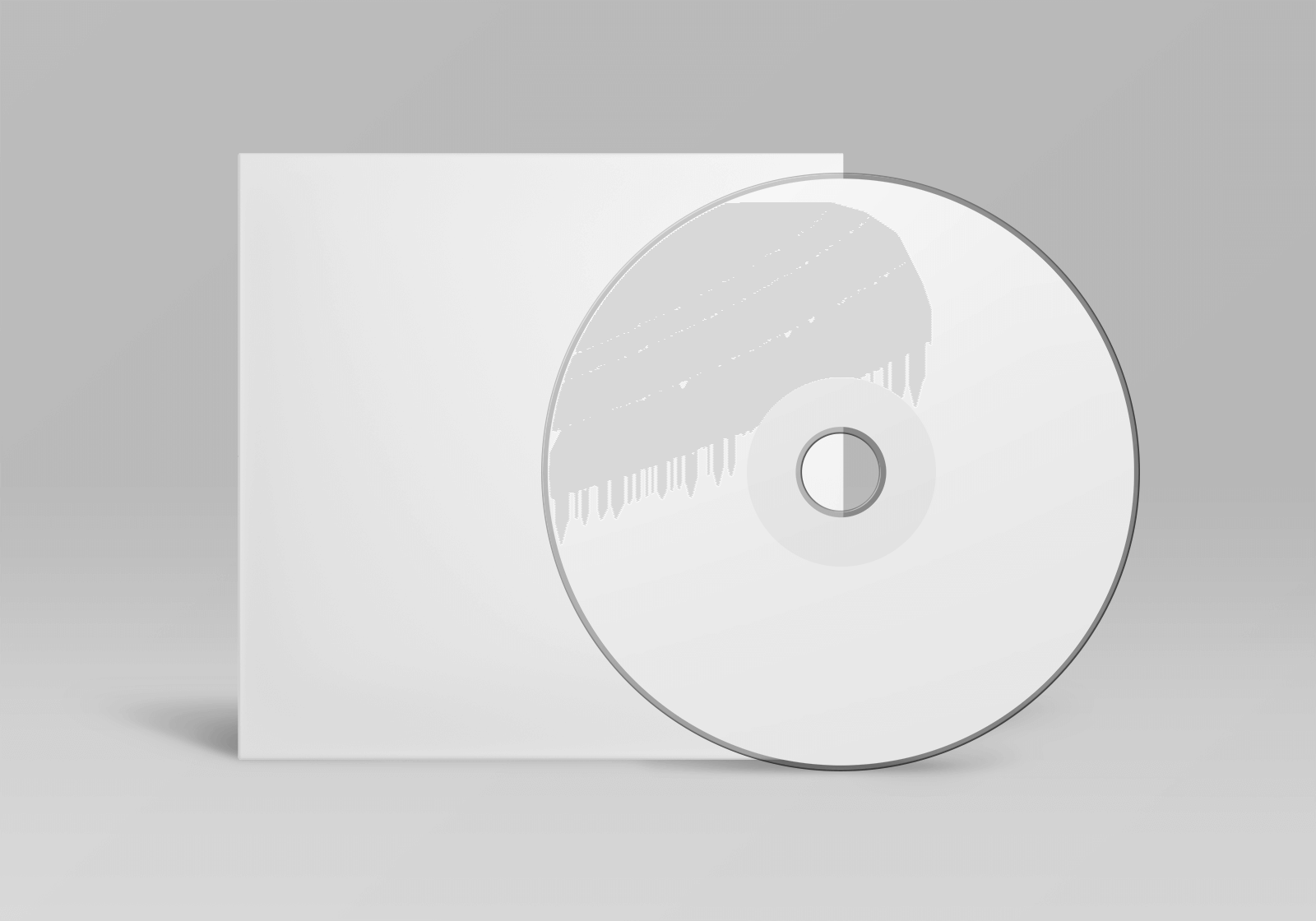 Free CD and Cover Mockup