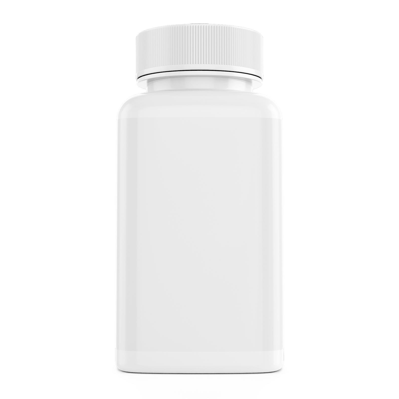Free Dietary Supplement Pills Bottle Mockup