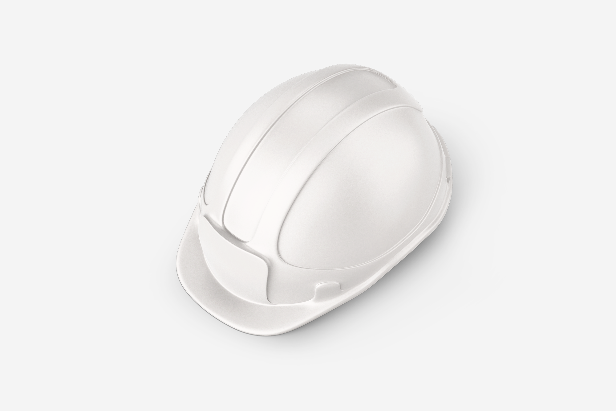 Free Construction Hard Hat Mockup