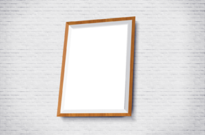 Free Poster Frame Mockup Set