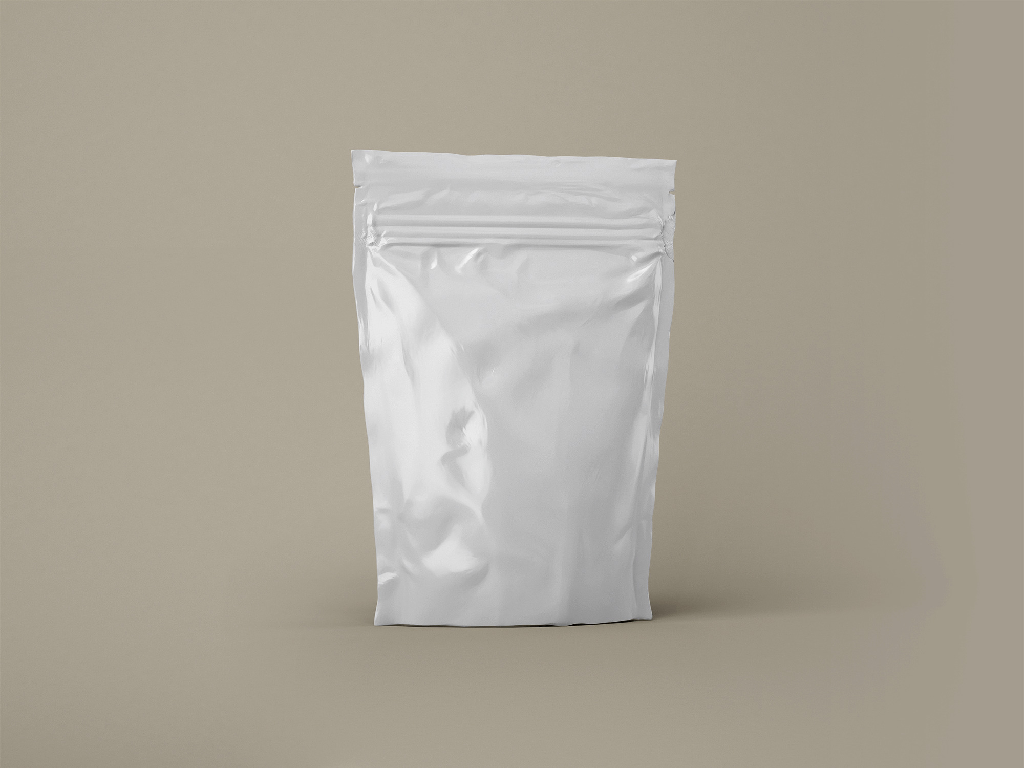 Free Sealed Pouch Pack Mockup