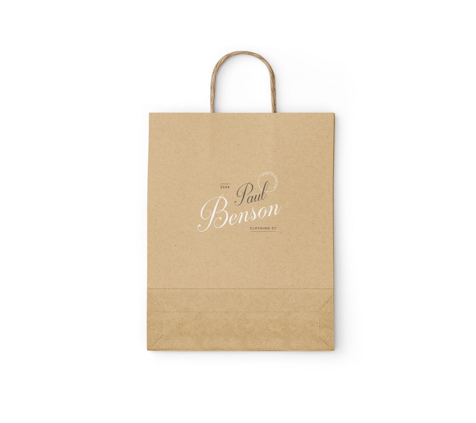 Free Kraft Paper Bag Mockup Set