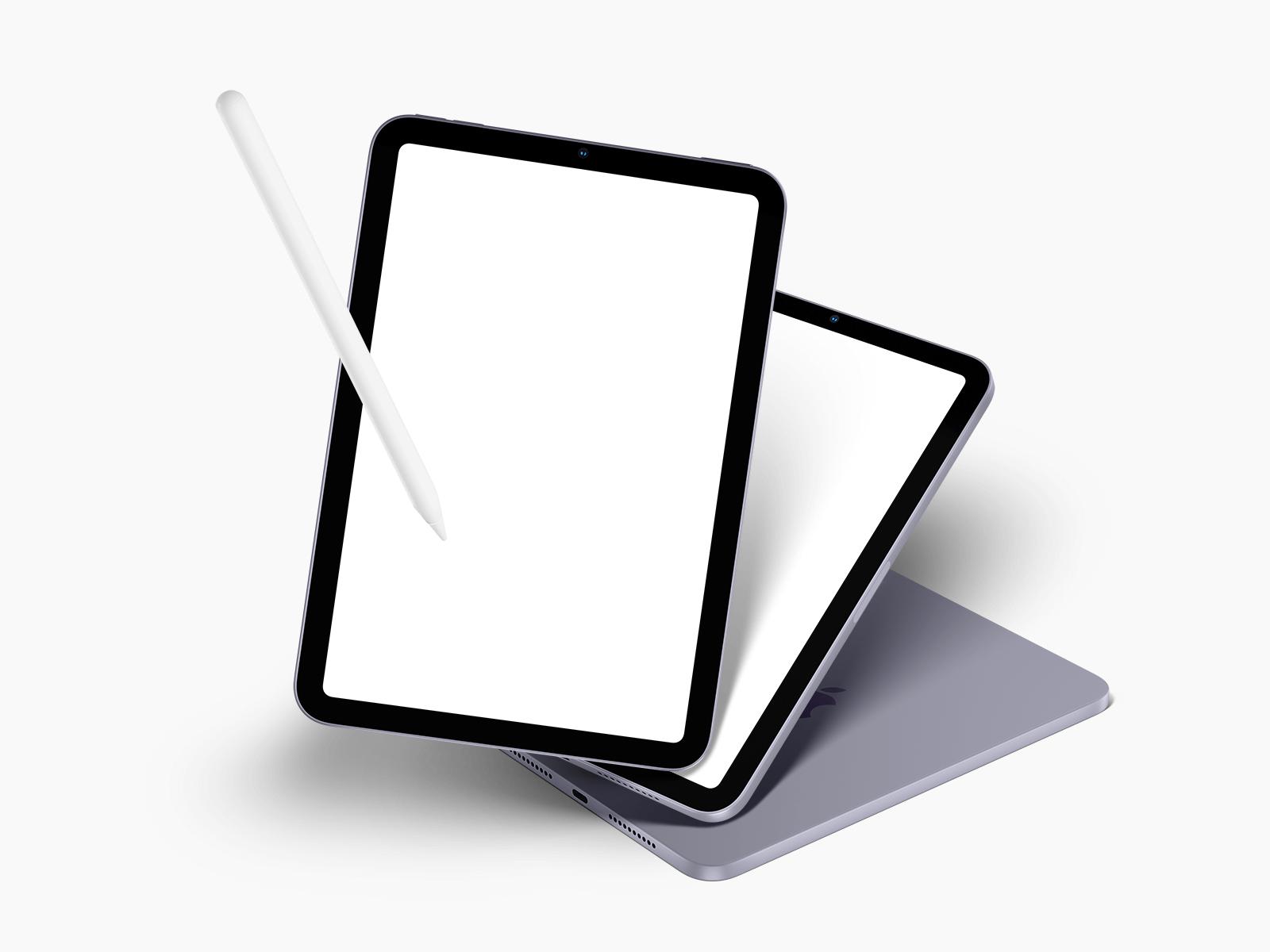 Free iPad Mini 2021 (all Colors) Mockup