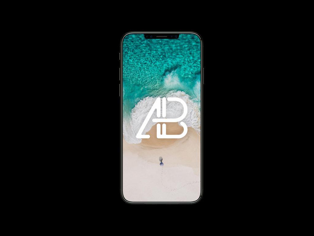 iphone 8 mockup free psd