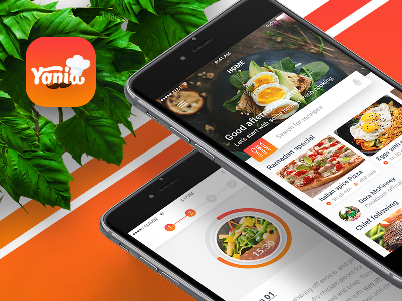 Yonia food recipes ios mobile app design free psd apemockups yonia food recipes ios mobile app design is a well researched app design which will be released on app store very soon i believe the moment i released forumfinder Choice Image