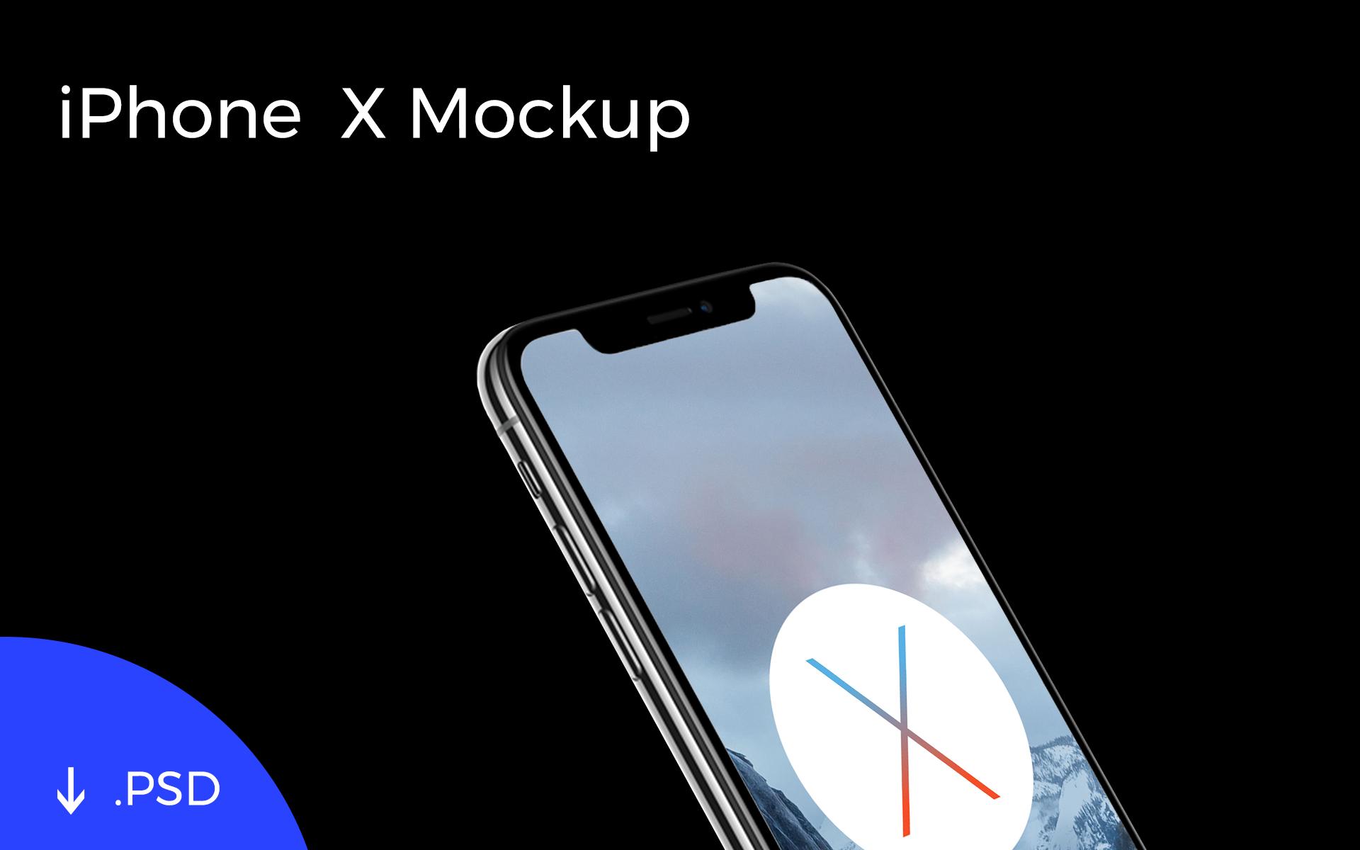 Iphone X Template Mockup Apemockups
