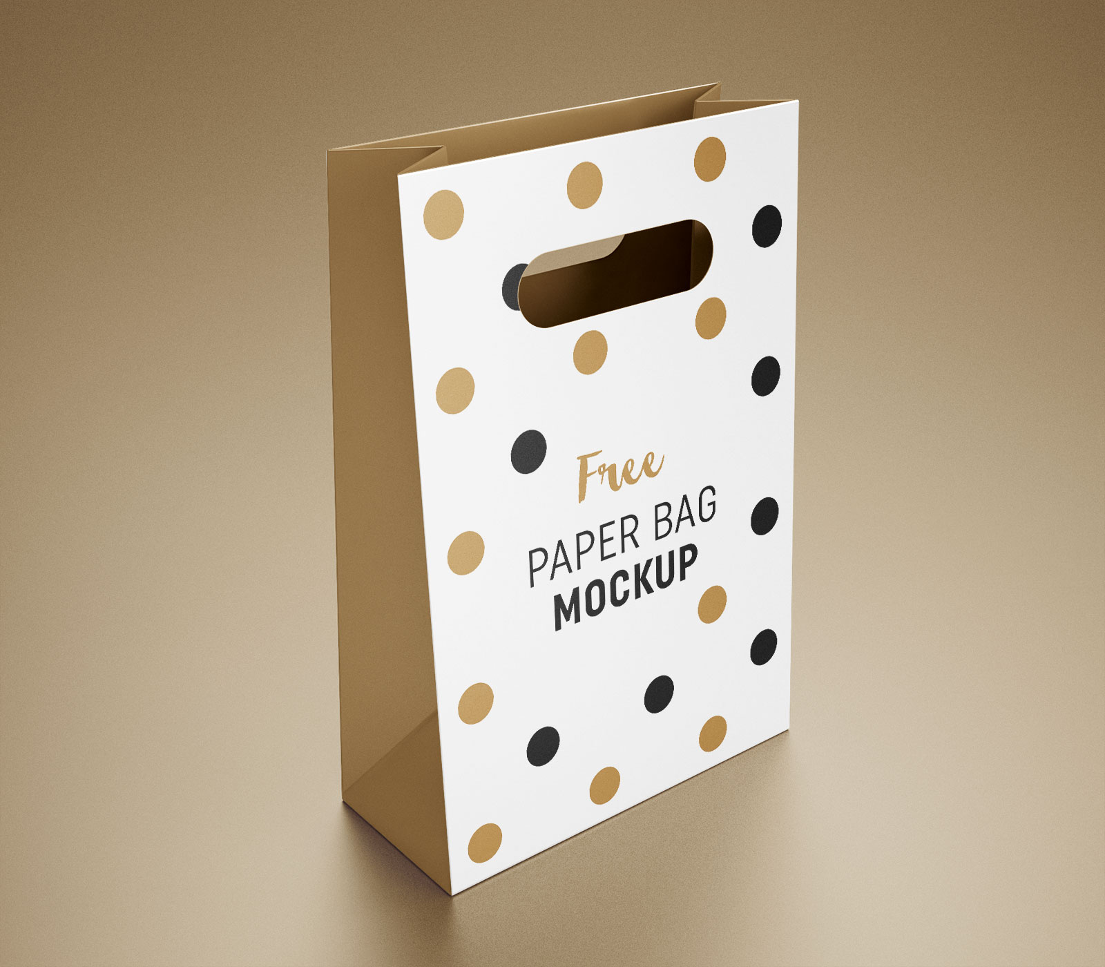 free paper packaging gift shopping bag mockup psd apemockups