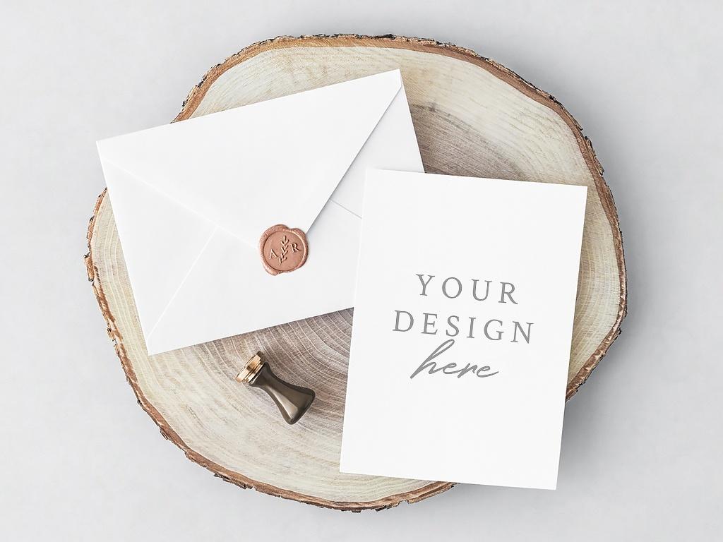 Free Psd Invitation Card Envelope Free Mockups Best