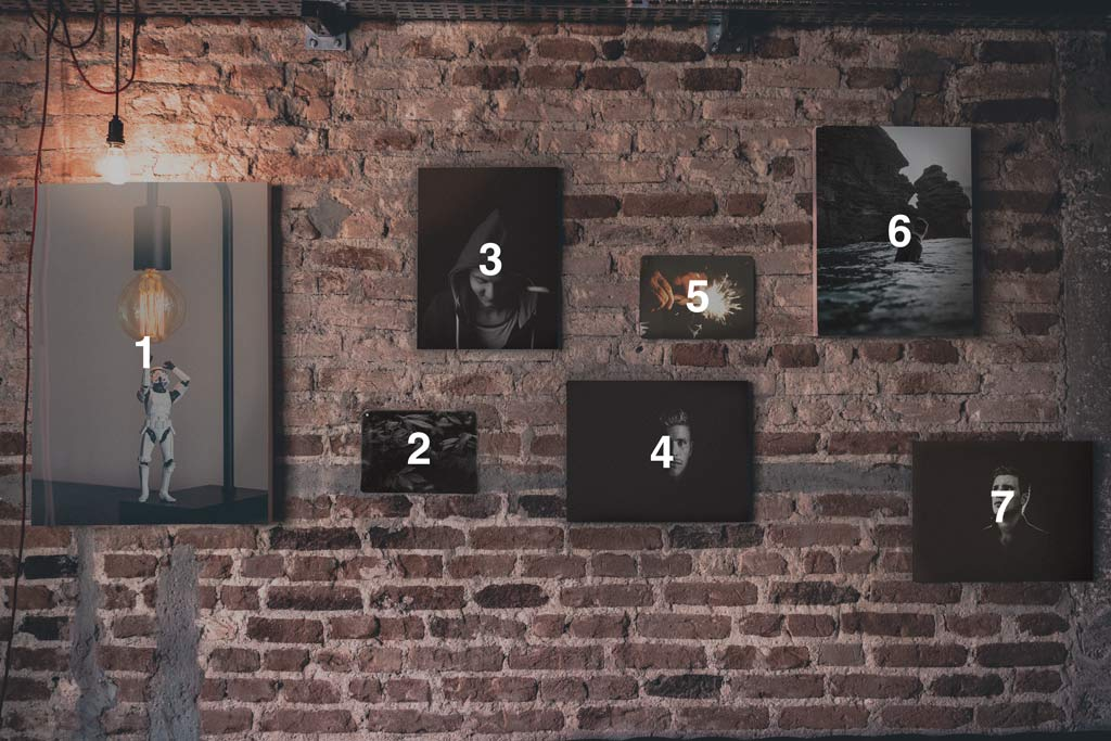 Brick Wall Photo Frames Mockup Free Mockups The Best
