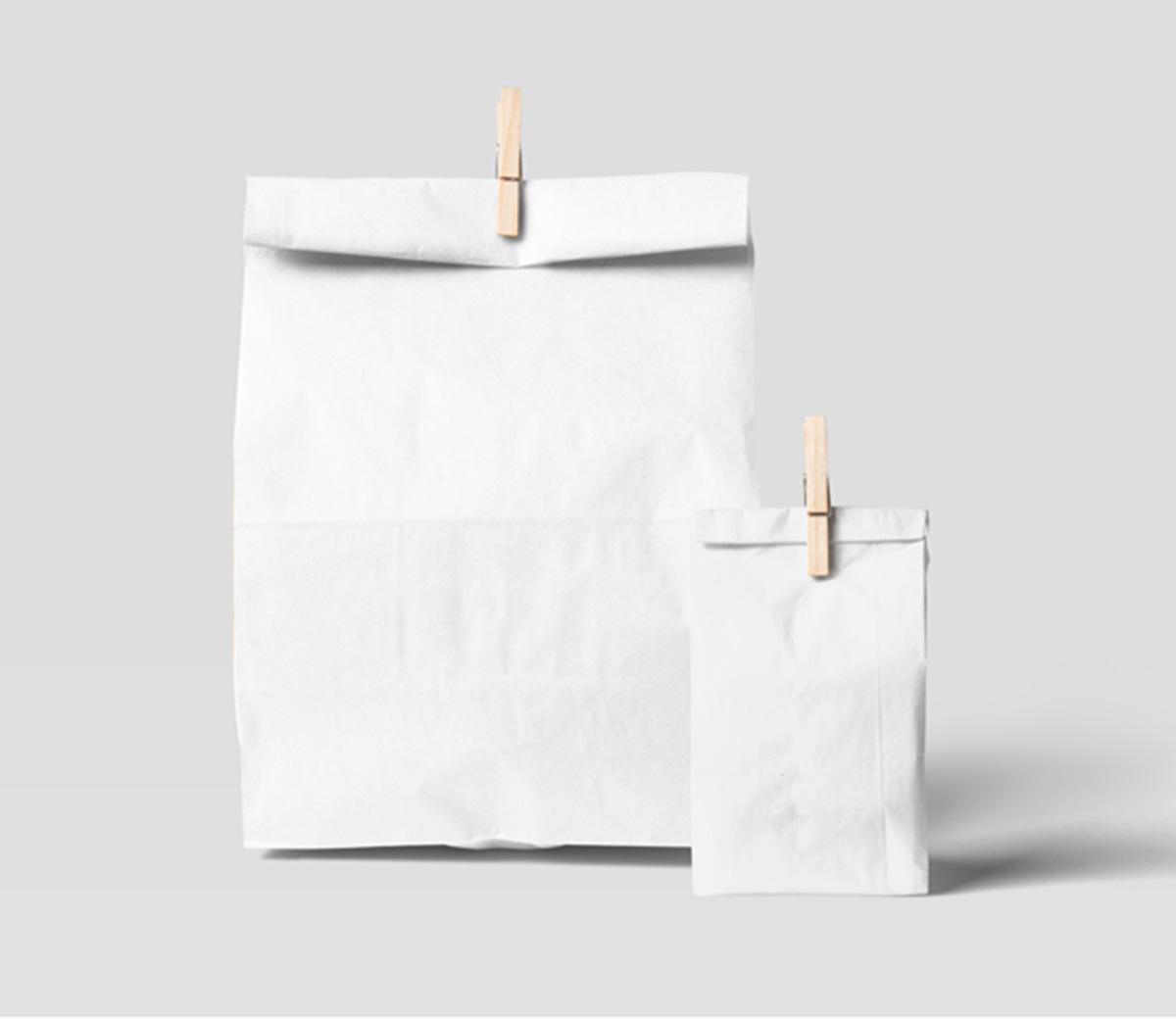 Free Paperbag Mockups Psd