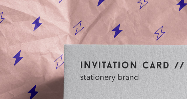 Free invitation card mockup psd apemockups this is a psd invitation card mockup and business card mockup inside its opened paper wrap you can easily add your own graphics thanks to the smart layer stopboris Images