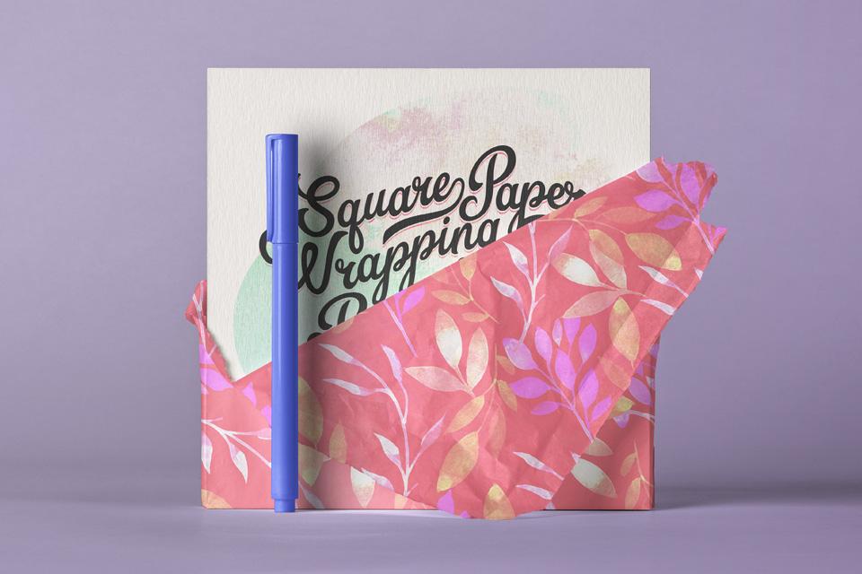 Square Psd Invitation Card Mockup Free Mockups Best Free