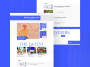 Blog Concept Templates PSD