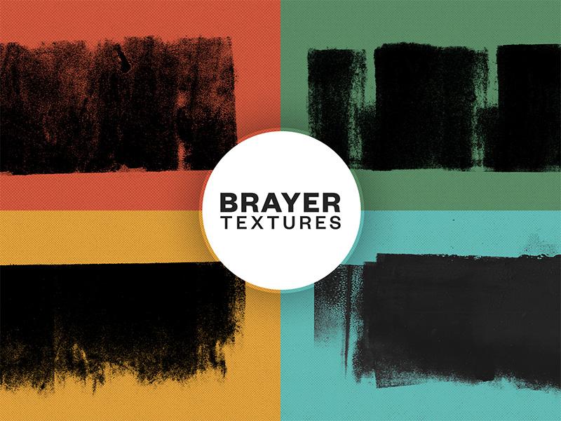 Brayer Textures Free