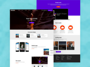 Perfect Shapes Project Template & UI Kit