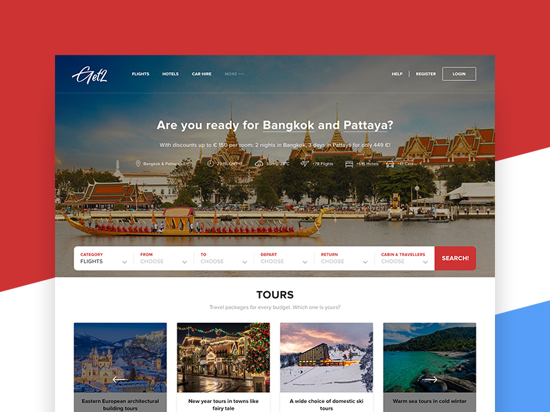 Travel Agency Website >> Travel Agency Website Psd Template Free Mockups Best Free