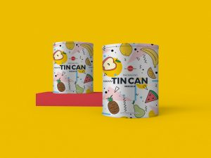 Free Packaging Tin Can Mockup PSD_02