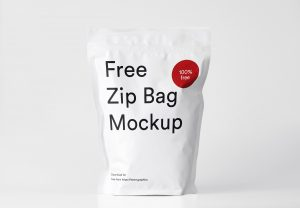 Free Zip Pouch Mockup PSD_2