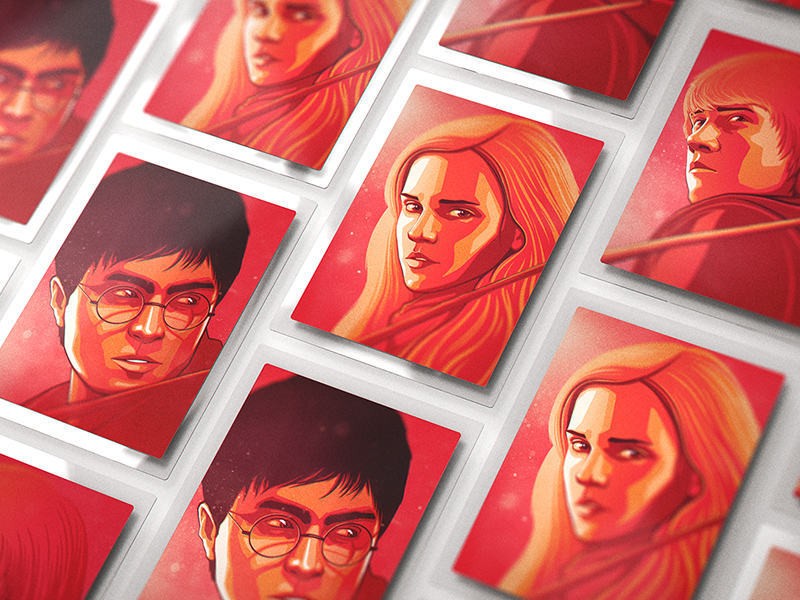 Harry Potter 3 Poster Mockups PSD