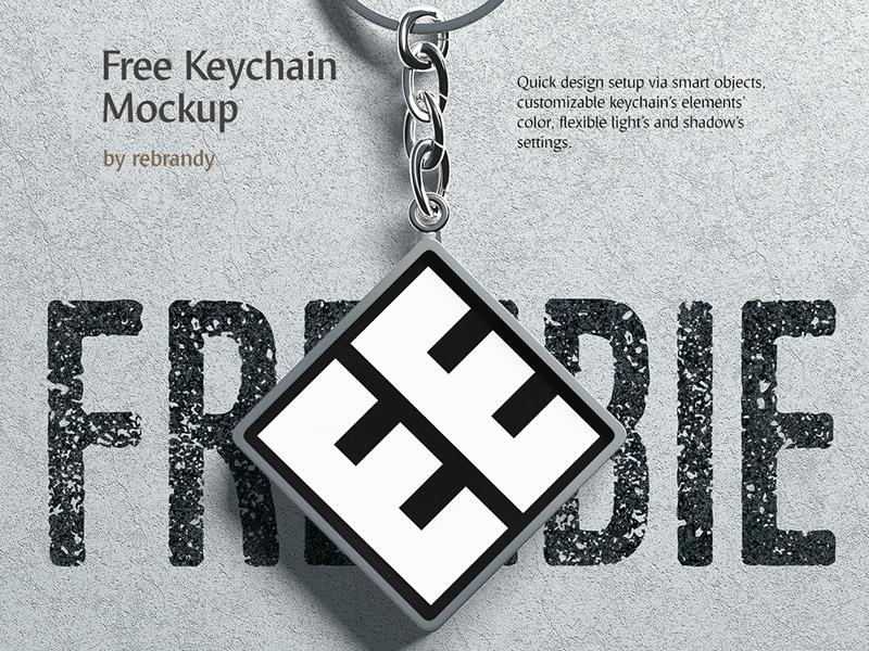 freebie-keychain-mockup