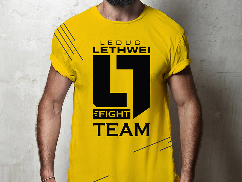 Boxing T-Shirt Mockup