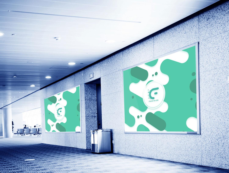 Free Street Stand Mockup (PSD) + Banner | Free Mockups, Best