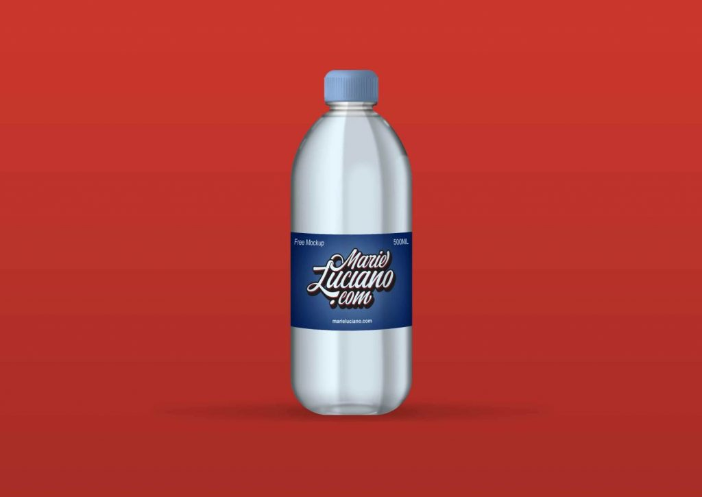 Download Free Plastic Water Bottle Mockup | Free Mockups, Best Free ... Free Mockups