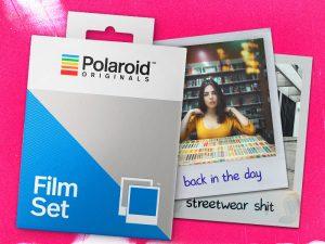 Free Polaroid Full Mockup PSD