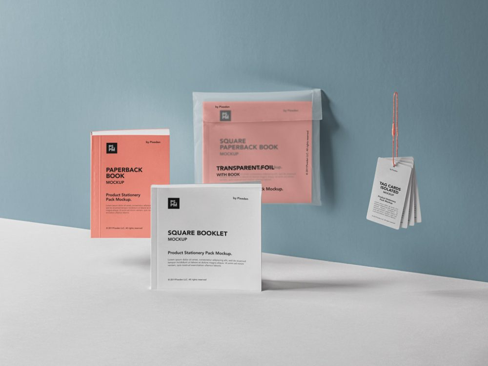 Free Product Manual Mockup