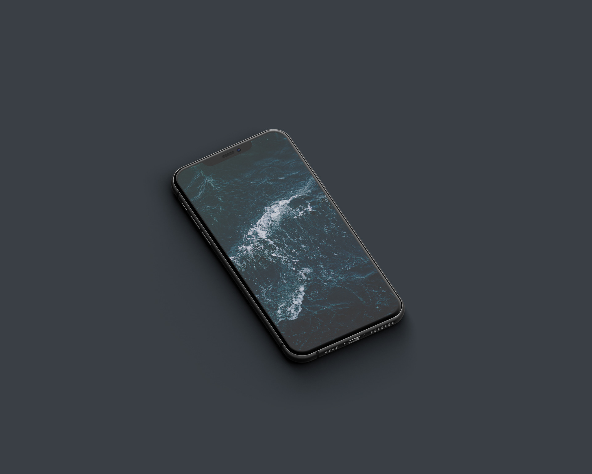 Free Black iPhone 11 Pro Mockup PSD
