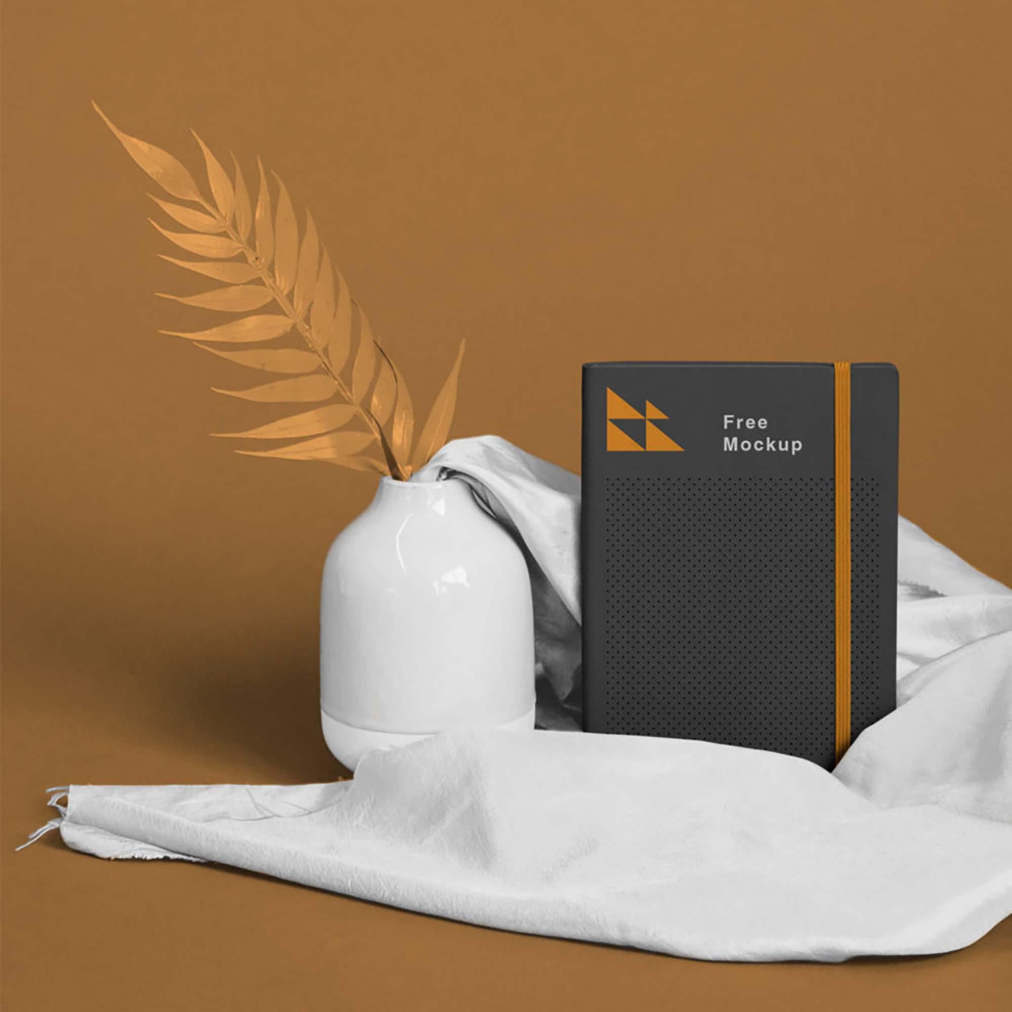 Free Classic Notebook Mockup