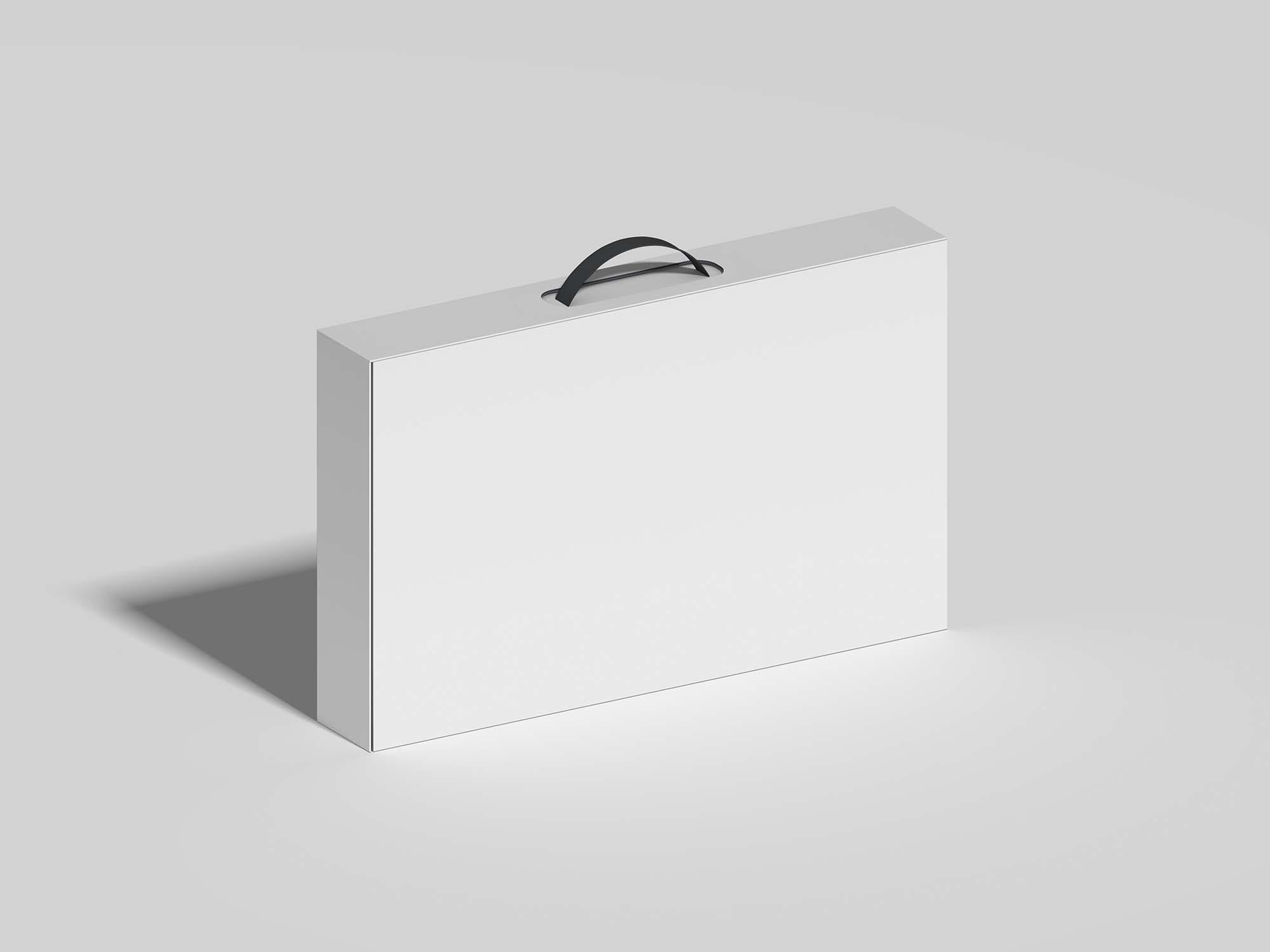 Free Computer Monitor Packaging Mockup 2