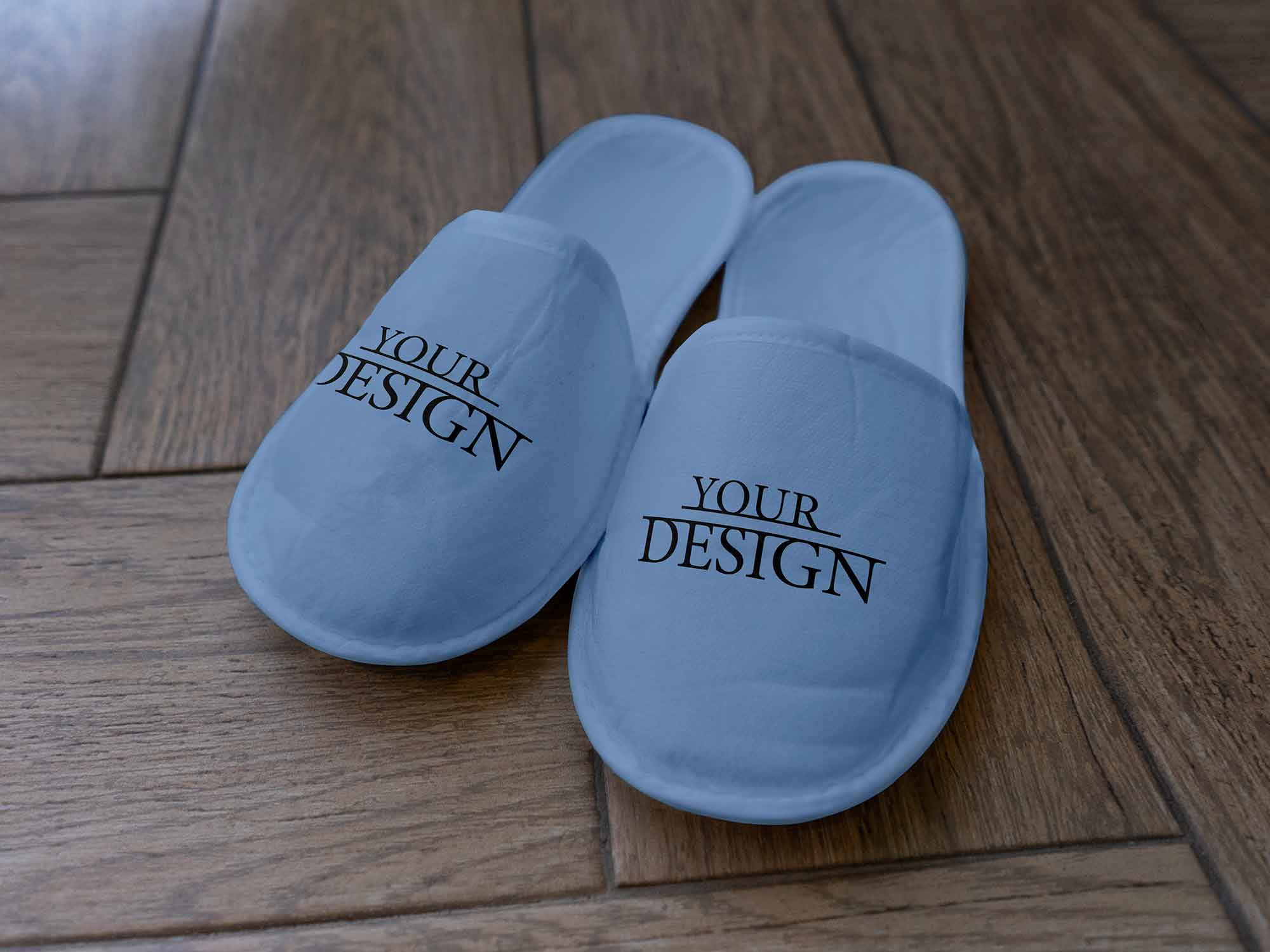 Free Slippers Mockup PSD