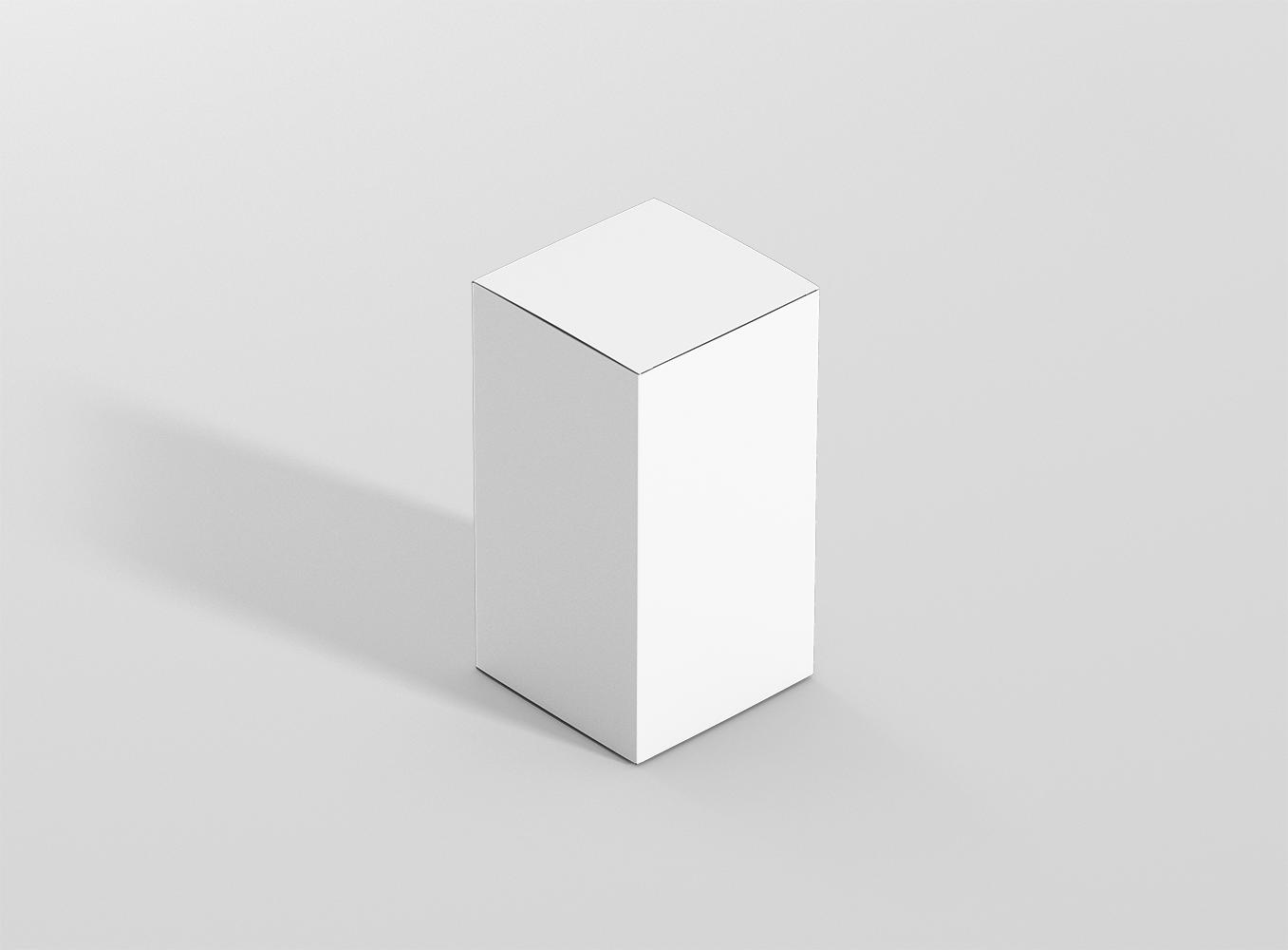 Rectangle Box Mockups Bundle