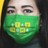Free Medical Face Mask Mockup
