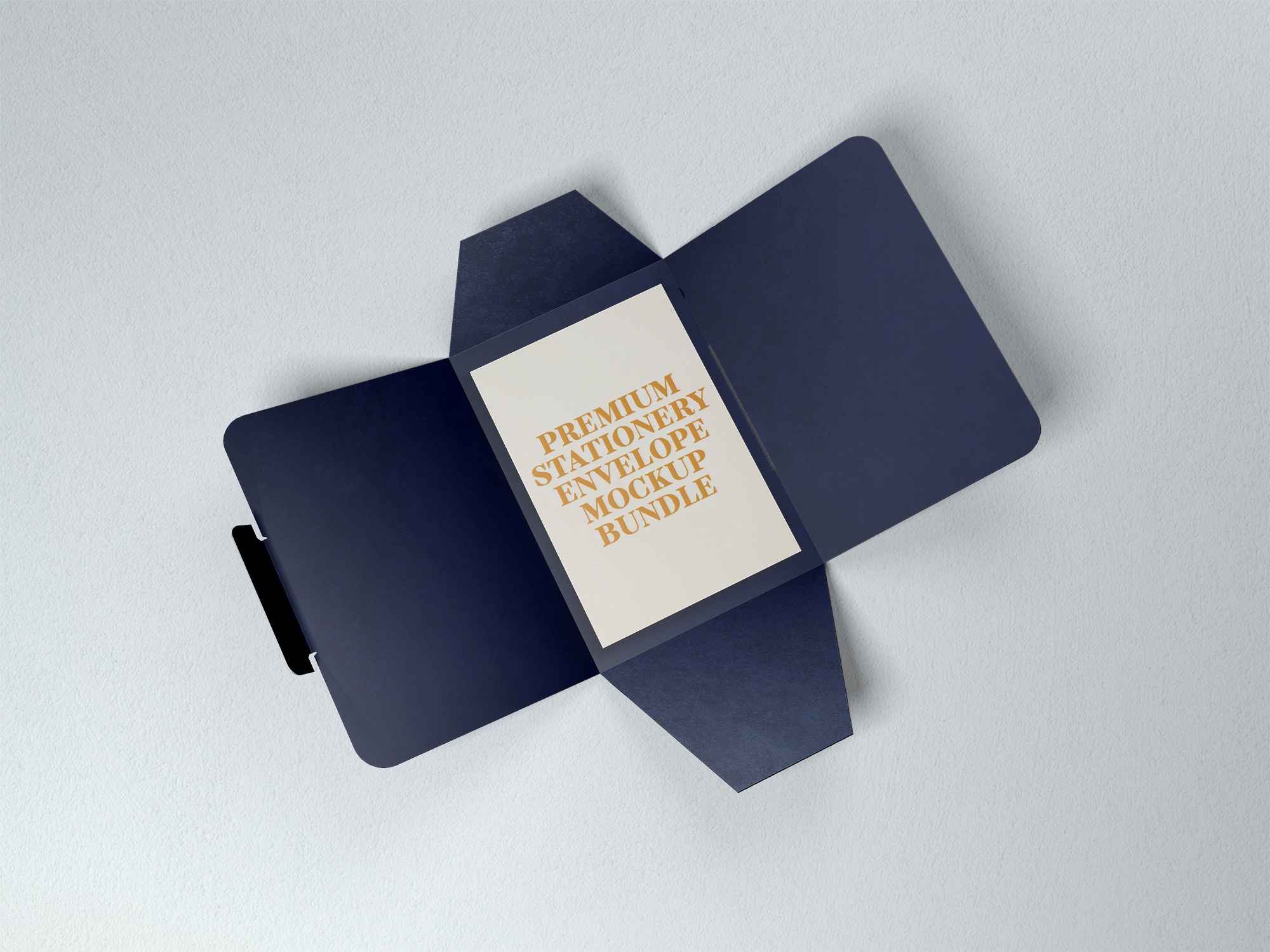 Free Envelope with Card Mockup