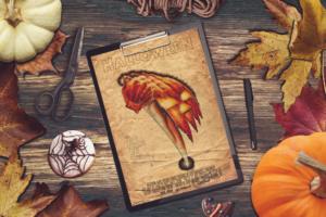 Free Halloween Poster Mockup